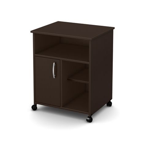 meuble pour micro ondes sur roulettes collection fiesta de meubles south shore walmart canada. Black Bedroom Furniture Sets. Home Design Ideas