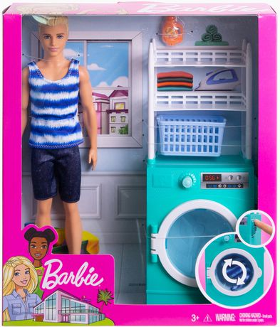 Barbie Ken Doll And Laundry Room Playset Walmart Canada
