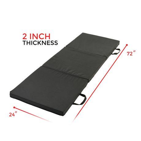 Sunny Health Amp Fitness Tri Fold Exercise Mat Walmart Canada