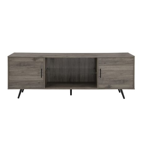 """Manor Park Mid Century Modern TV Stand for TV's up to 78""""- Multiple Finishes - image 3 of 6"""