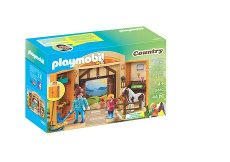 PLAYMOBIL Pony Stable Play Box 5660 Play Set - image 1 of 2