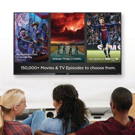 "Sanyo 65"" 4K UHD HDR 10 Roku Smart TV, FW65R79FC - image 8 of 9"