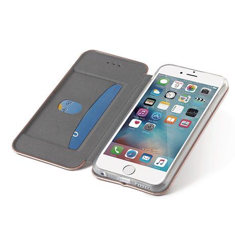 blackweb Slim Wallet Case with Magnetic Closure for iPhone 6/6s/7 - image 1 of 3
