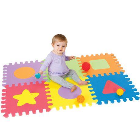Infantino Llc Infantino Soft Foam Puzzle Mat - image 4 of 4