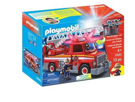 ensemble de jeu camion de pompiers avec chelle de playmobil walmart canada - Playmobil Pompier