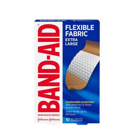 BAND-AID® Flexible Fabric Extra Large Adhesive Bandages - image 1 of 1
