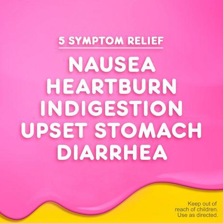 Pepto Bismol Caplets for Nausea, Heartburn, Indigestion, Upset Stomach, and Diarrhea - image 3 of 5