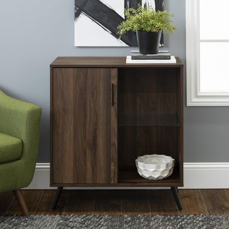 "Manor Park Mid-Century Modern TV Stand Cabinet for TV's up to 32""- Multiple Finishes - image 1 of 8"