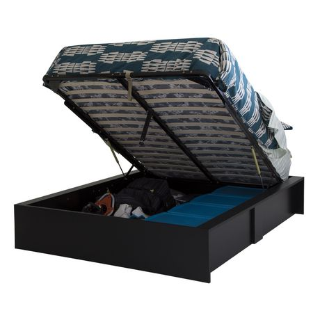 f0f3d611f969 South Shore SoHo Ottoman Queen Storage Bed, 60