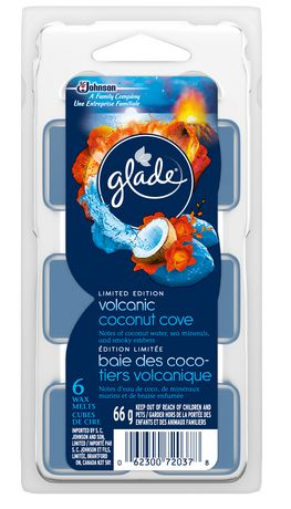 Glade Spring Volcanic Coconut Cove Wax Melts Refills
