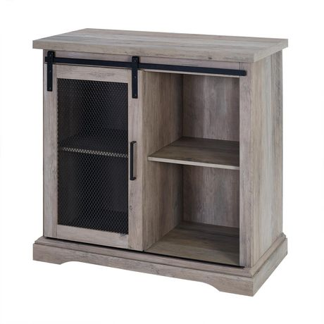 Manor Park Industrial Farmhouse Accent Table and Entryway Table- Multiple Finishes - image 4 of 8