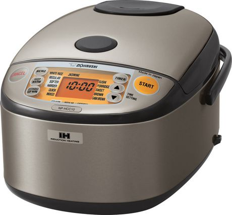 Zojirushi Induction Heating System Rice Cooker & Warmer NP-HCC10