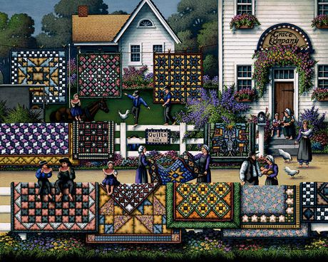 Dowdle Amish Quilts - 500 Piece - image 3 of 3