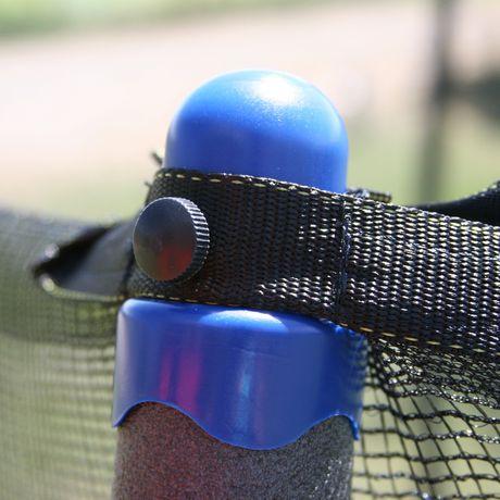 Skywalker Trampolines 14' Blue Round Trampoline And Enclosure - image 8 of 9