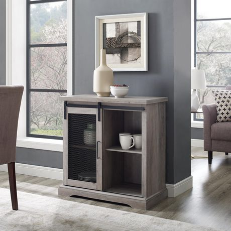Manor Park Industrial Farmhouse Accent Table and Entryway Table- Multiple Finishes - image 2 of 8