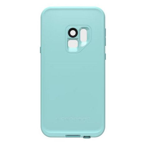 the latest c0f8a 39b5c LifeProof Fre Case for Samsung Galaxy S9 Wipeout (Coral/Blue)