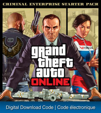 PS4 Gta ONLINE: Criminal Enterprise Starter Pack Digital