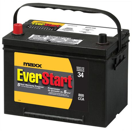Everstart Battery Warranty >> EverStart MAXX-34 | Walmart Canada