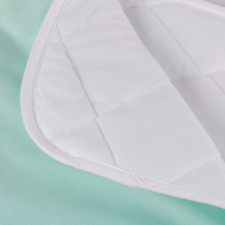 Coussin de lit imperméable matelassé et réutilisable DMI à 4 plis - image 4 de 5