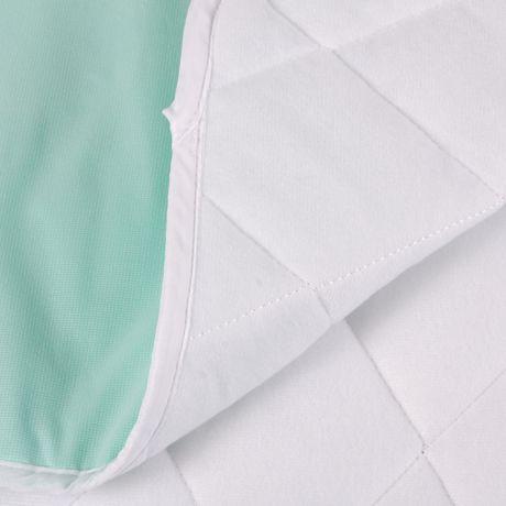 Coussin de lit imperméable matelassé et réutilisable DMI à 4 plis - image 5 de 5
