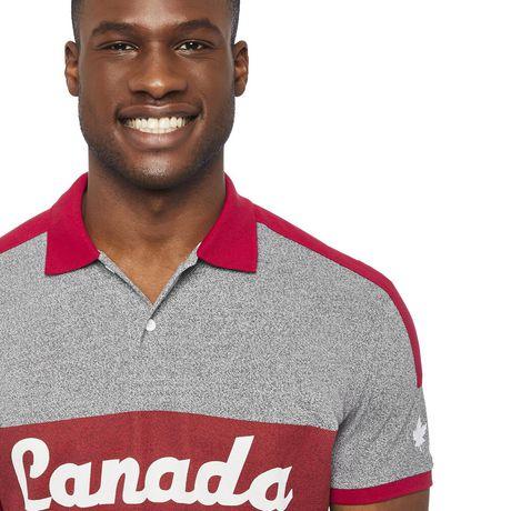 Polo piqué avec logo du Canada Canadiana Plus pour hommes - image 4 de 6