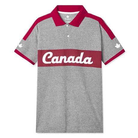 Polo piqué avec logo du Canada Canadiana Plus pour hommes - image 6 de 6