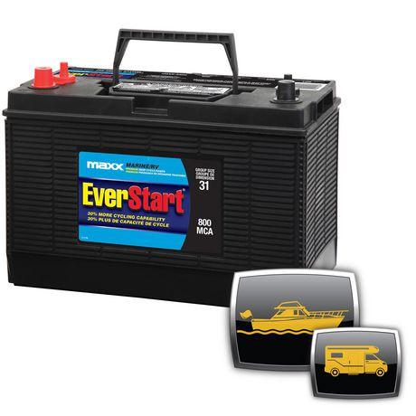 Everstart Marine Rv Battery Premium Deep Cycle Power Maxx