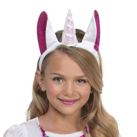 Girls' Dashing Unicorn Costume M. Walmart Exclusive. - image 2 of 3