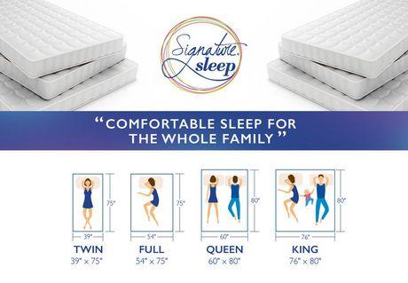 Dhp Signature Sleep Memoir 8 Memory Foam Mattress Walmart Canada