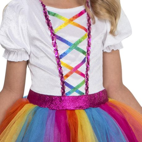 Girls' Dashing Unicorn Costume M. Walmart Exclusive. - image 3 of 3