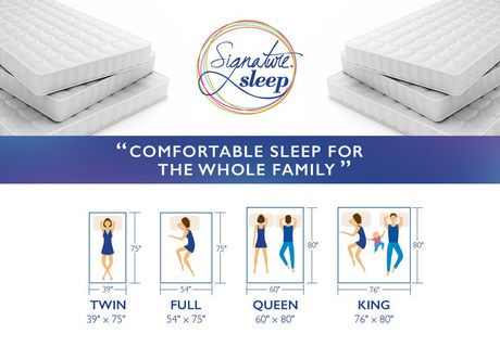 us mattress certified signature memoir foam with memory q certipur inch queen sleep