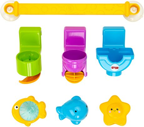 Barre pour le bain Splash & Play de Fisher-Price - image 1 de 9