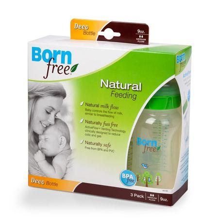 Born Free 260 ml. Biberon Déco-3 paquet - image 1 de 1