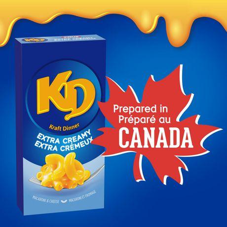Kraft Dinner Extra Creamy Macaroni & Cheese - image 1 of 8