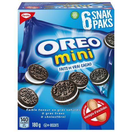 Snak Paks Mini OREO Milk Sandwich Cookies - image 2 of 7