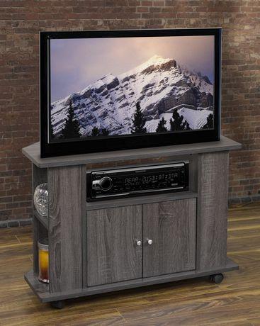 K Living Tiana Mdf Tv Cabinet In Tallisa Oak Finish For 22 To 29 Tv Walmart Canada