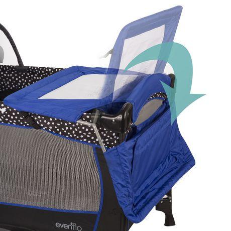 Evenflo 174 Portable Babysuite Deluxe Playard Walmart Canada