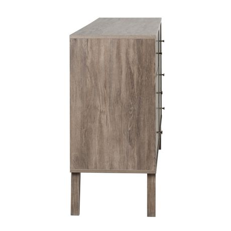 Prepac Milo 6-drawer Dresser, White - image 4 of 9