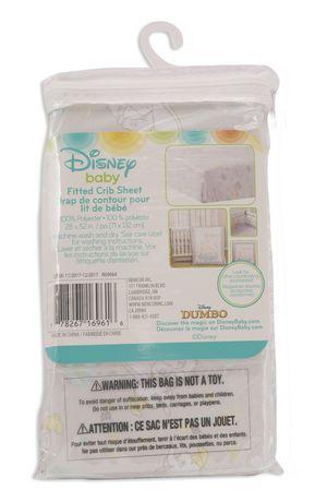 Drap de contour pour lit de bébé de Disney Dumbo - image 3 de 3