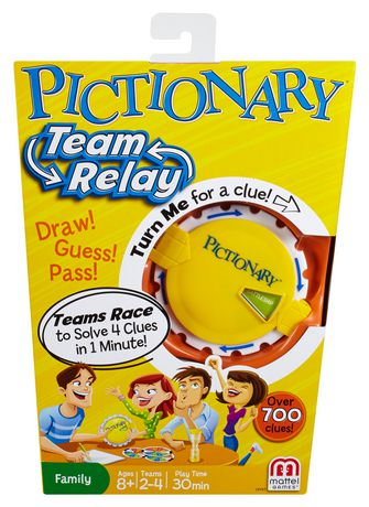 Pictionary Team Relay Game - image 1 of 9