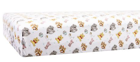 drap de contour pour lit de b b de disney pooh walmart canada. Black Bedroom Furniture Sets. Home Design Ideas