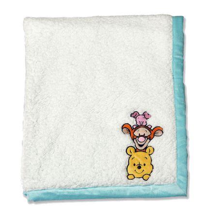 Disney Pooh Reversible Baby Blanket Walmart Canada
