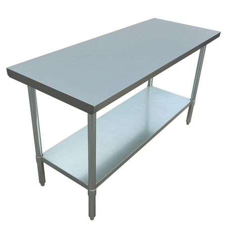 Excalibur 18 Gauge 430 Stainless Steel Work Table With