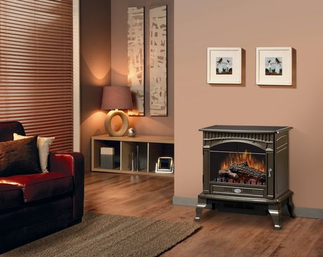 Traditional Gloss Bronze 4 915 Btu 25 Quot Wide Free Standing
