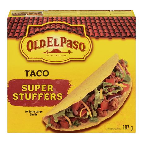 super coquilles tacos sans gluten d 39 old el paso. Black Bedroom Furniture Sets. Home Design Ideas