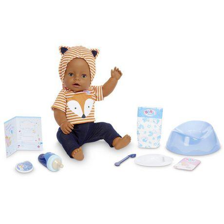 BABY born Interactive Boy – Brown Eyes with 9 Ways to Nurture - image 2 of 4