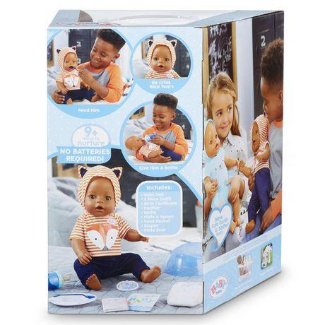 BABY born Interactive Boy – Brown Eyes with 9 Ways to Nurture - image 4 of 4