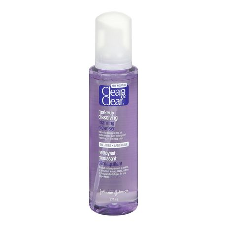 Clean & Clear Make-up Dissolving Foaming Cleanser, 177 ml - image 1 of 1