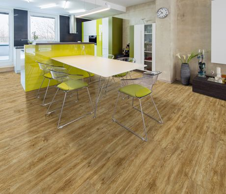 Forever Floor 5 Mm Crystal Oak Luxury Vinyl Plank Flooring