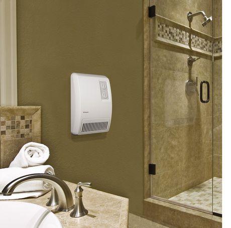 Dimplex North America Dimplex Wall Mounted Bathroom Fan